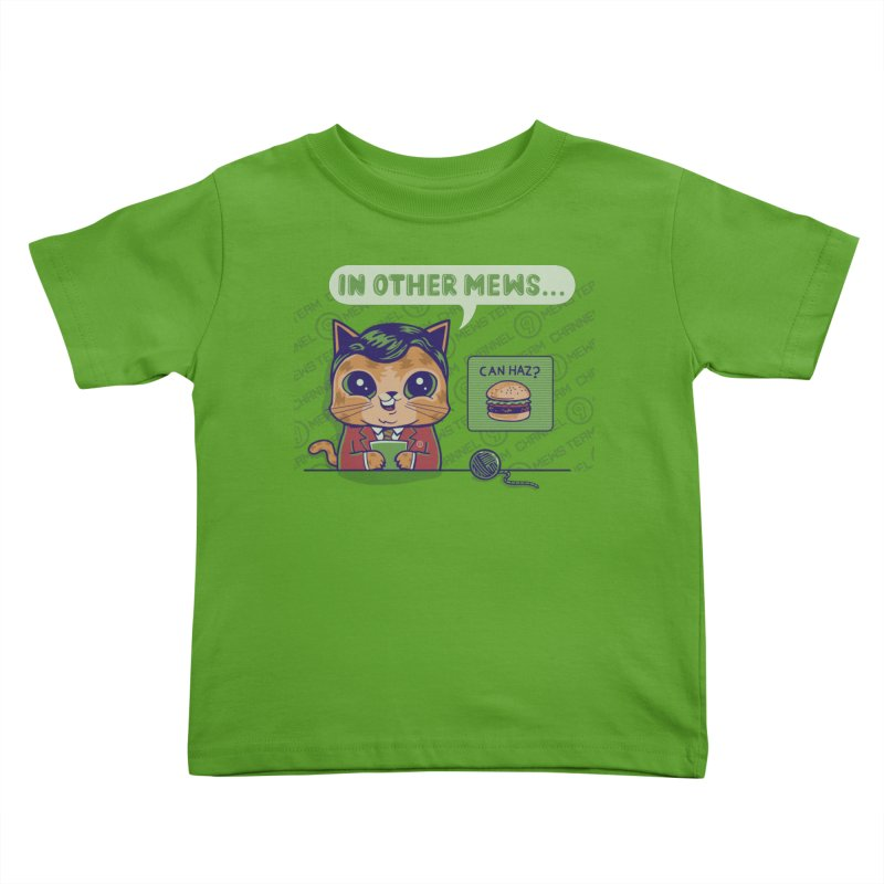 Mewsflash Kids Toddler T-Shirt by Made With Awesome