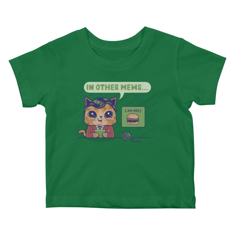 Mewsflash Kids Baby T-Shirt by Made With Awesome