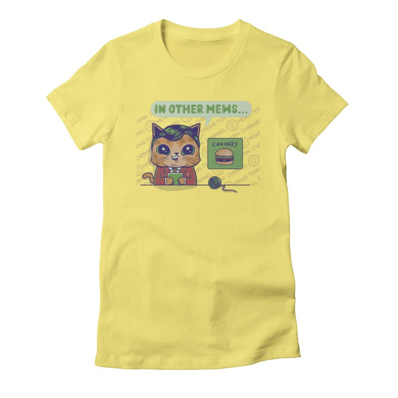 Mewsflash Gals T-Shirt by Made With Awesome