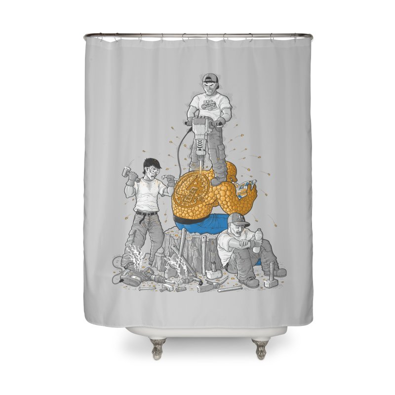 Permanent Ink Home Shower Curtain by Made With Awesome
