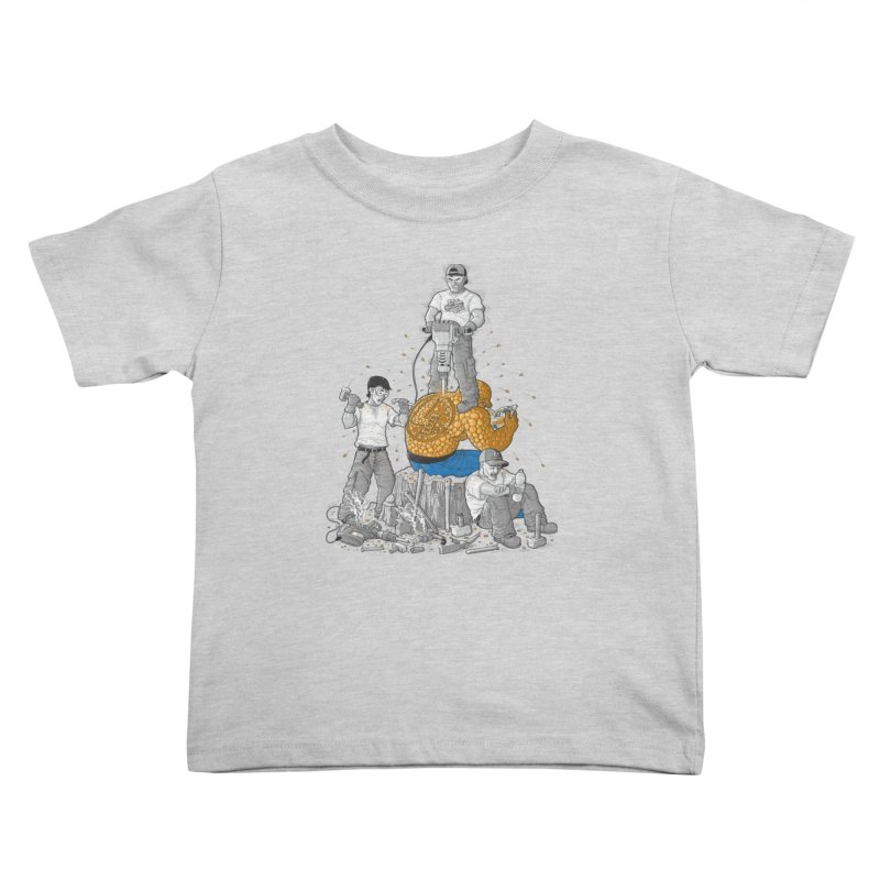Permanent Ink Kids Toddler T-Shirt by Made With Awesome