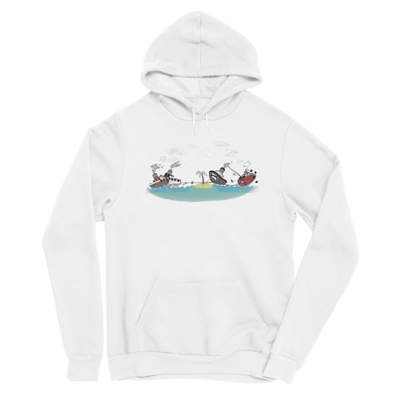 Tug Of War Gals Pullover Hoody by Made With Awesome