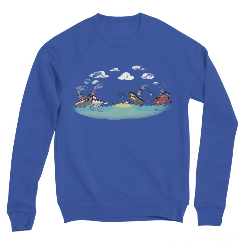 Tug Of War Gals Sweatshirt by Made With Awesome