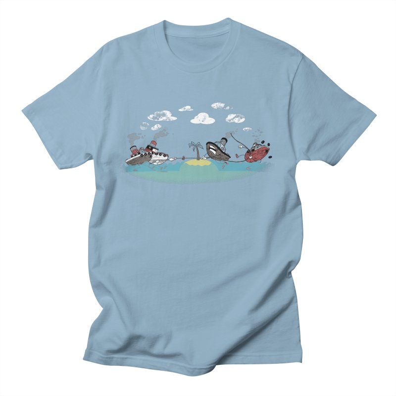 Tug Of War Men's T-Shirt by Made With Awesome