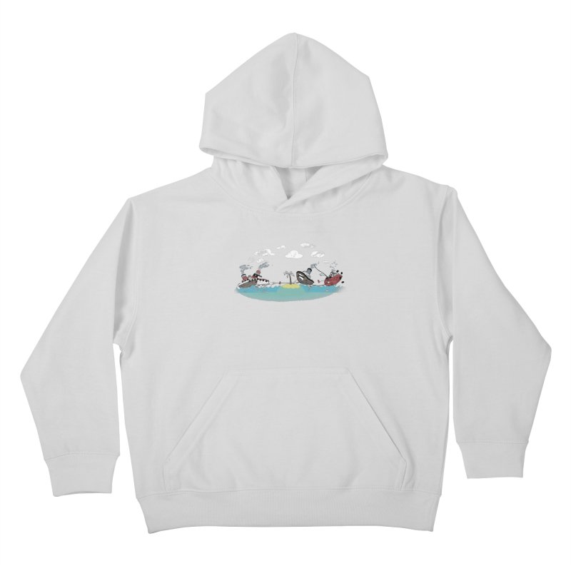 Tug Of War Kids Pullover Hoody by Made With Awesome