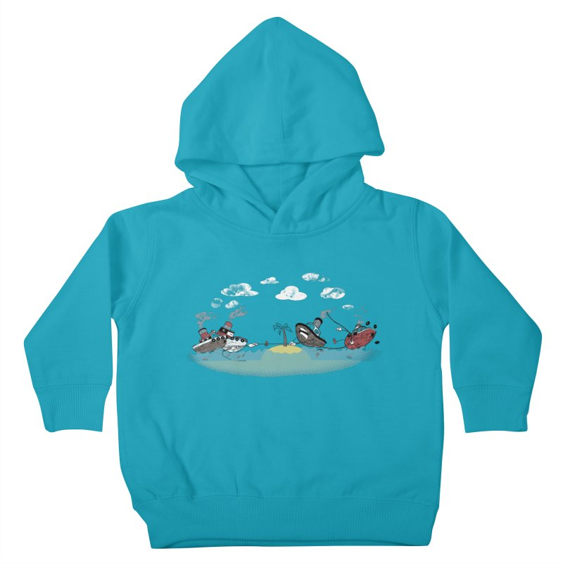 Tug Of War Kids Toddler Pullover Hoody by Made With Awesome
