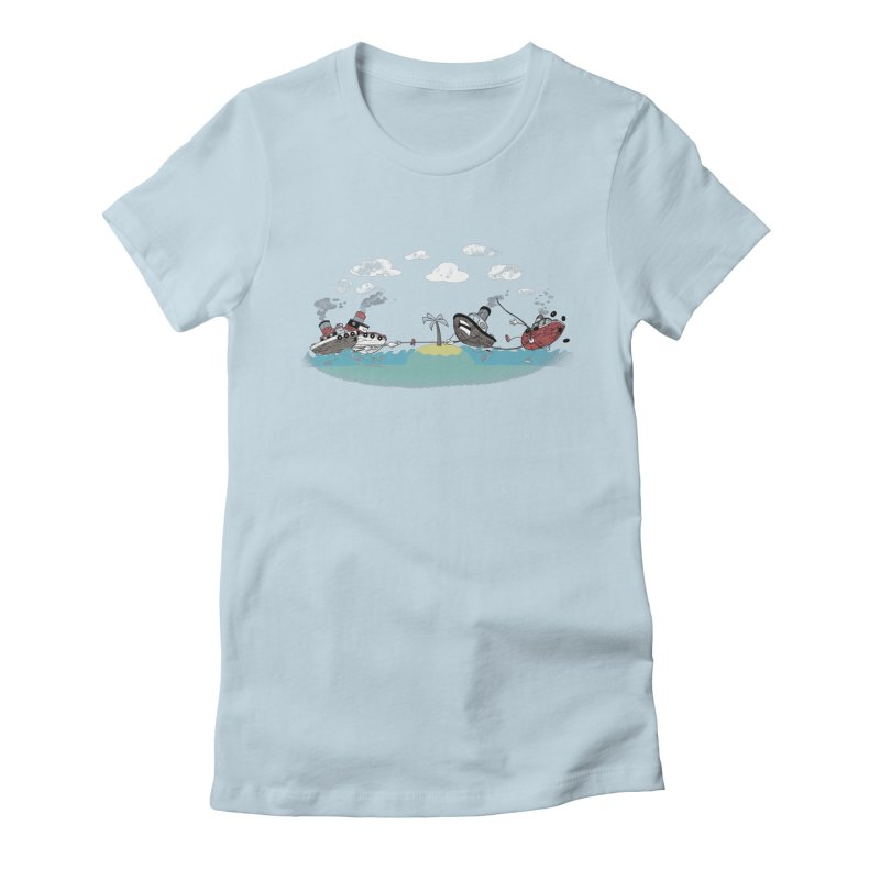 Tug Of War Women's T-Shirt by Made With Awesome