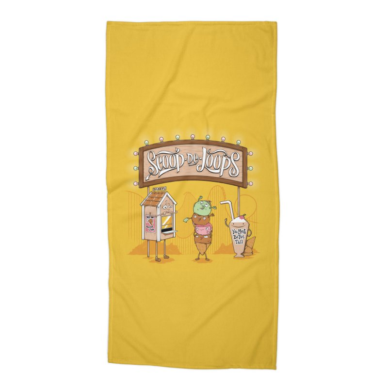 Scoop De Loops Accessories Beach Towel by Made With Awesome