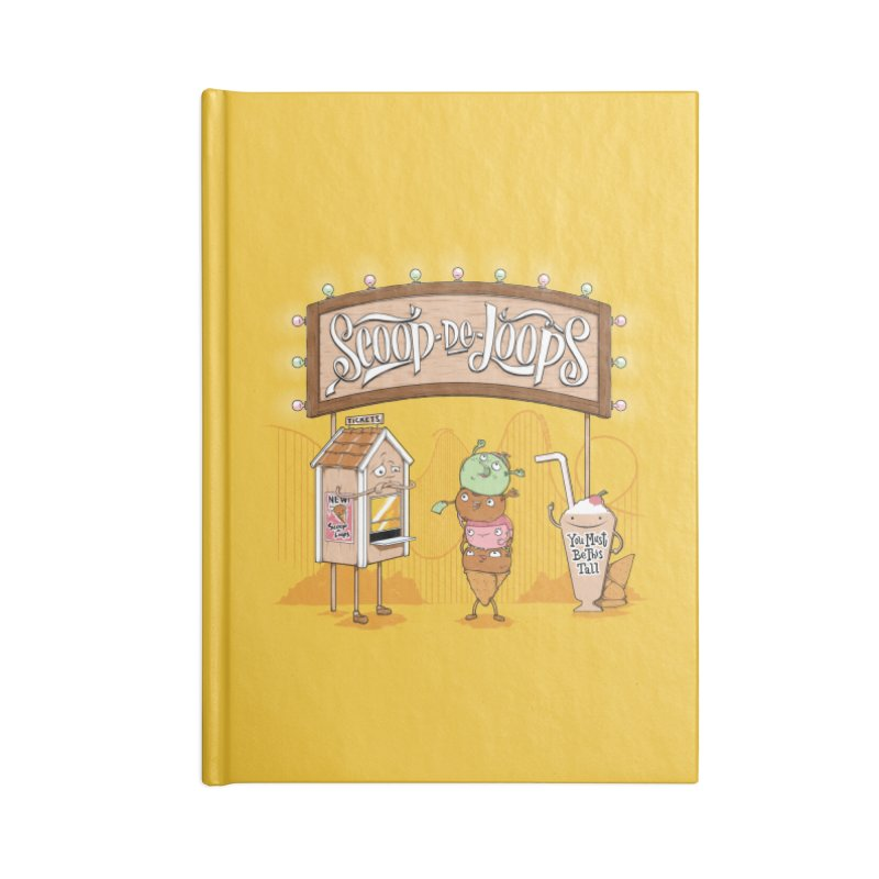 Scoop De Loops Accessories Notebook by Made With Awesome
