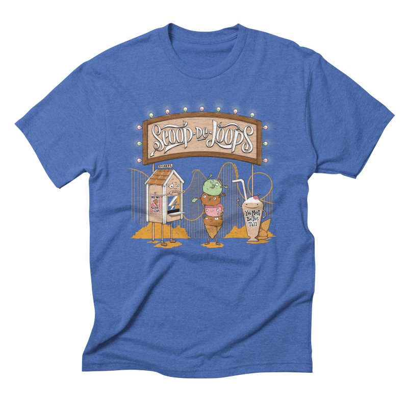 Scoop De Loops Guys T-Shirt by Made With Awesome
