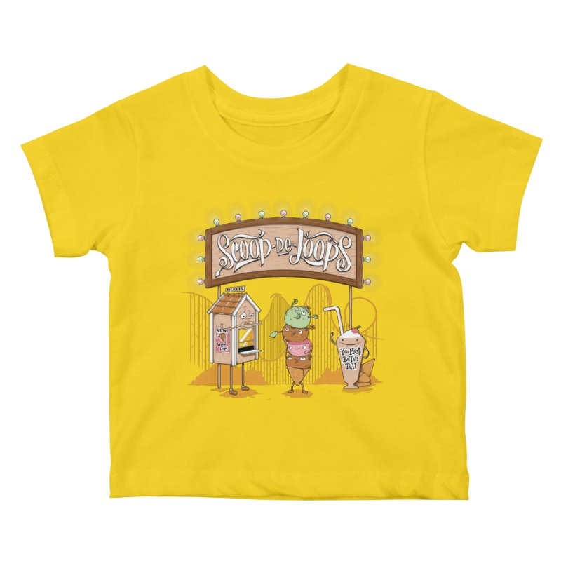 Scoop De Loops Kids Baby T-Shirt by Made With Awesome