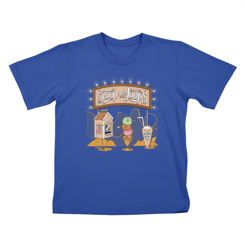 Scoop De Loops Kids T-Shirt by Made With Awesome