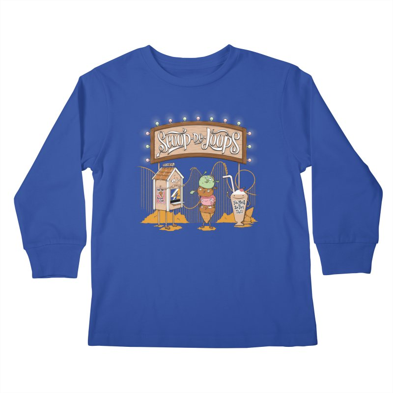 Scoop De Loops Kids Longsleeve T-Shirt by Made With Awesome