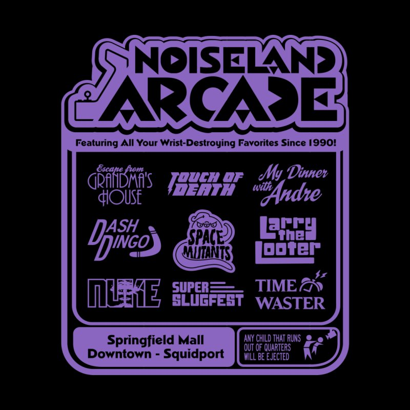 Noiseland Arcade Guys V-Neck by Made With Awesome