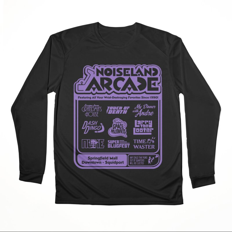 Noiseland Arcade Gals Longsleeve T-Shirt by Made With Awesome
