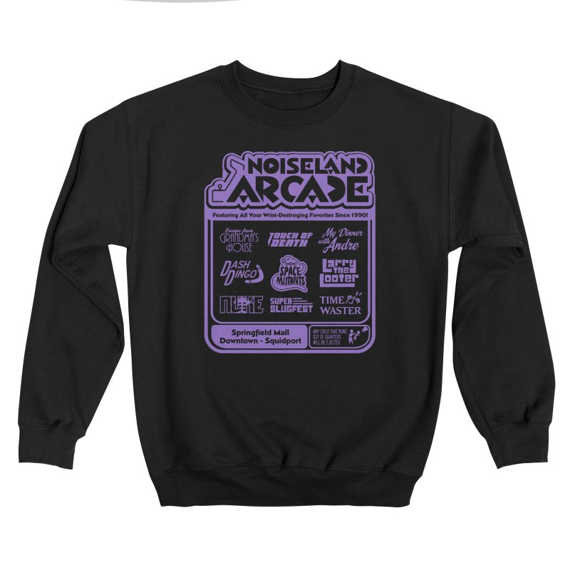 Noiseland Arcade Guys Sweatshirt by Made With Awesome