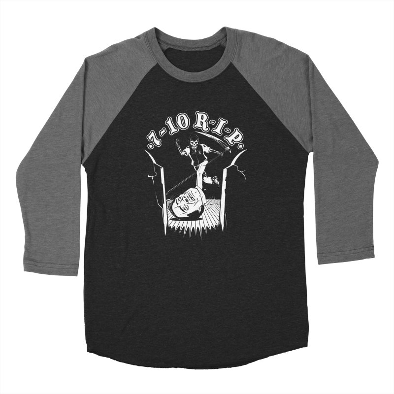 The Pin Reaper Women's Baseball Triblend T-Shirt by Made With Awesome