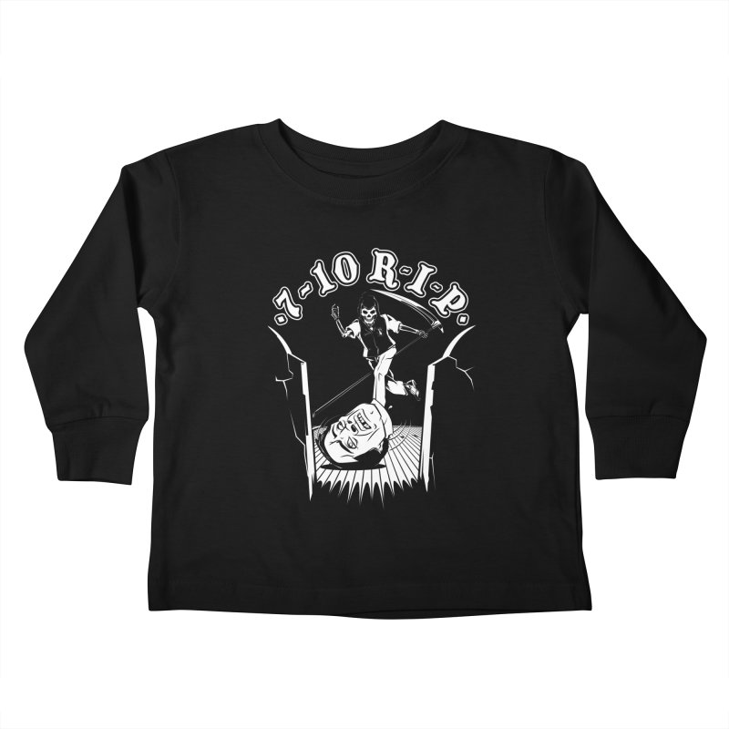 The Pin Reaper Kids Toddler Longsleeve T-Shirt by Made With Awesome