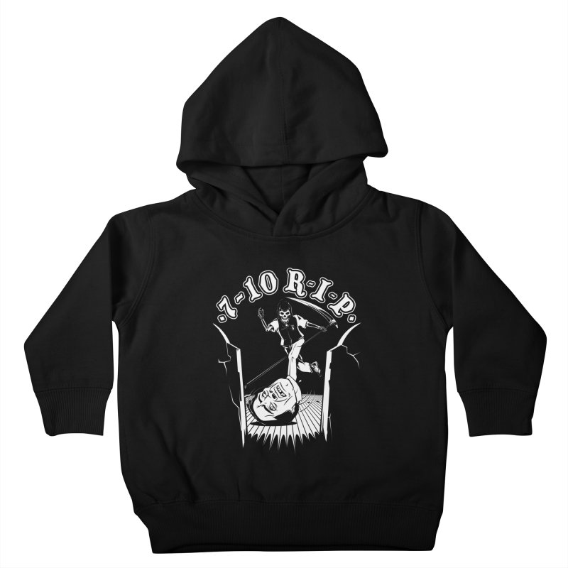 The Pin Reaper Kids Toddler Pullover Hoody by Made With Awesome