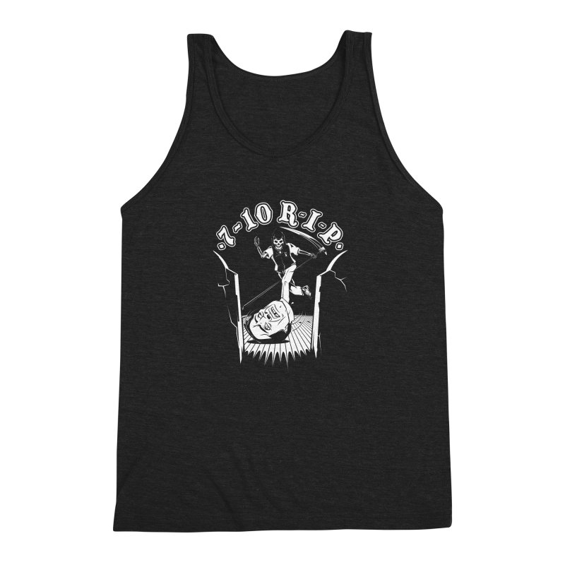 The Pin Reaper Men's Triblend Tank by Made With Awesome