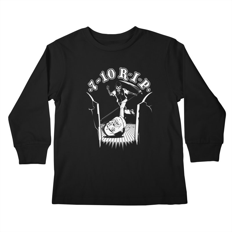 The Pin Reaper Kids Longsleeve T-Shirt by Made With Awesome