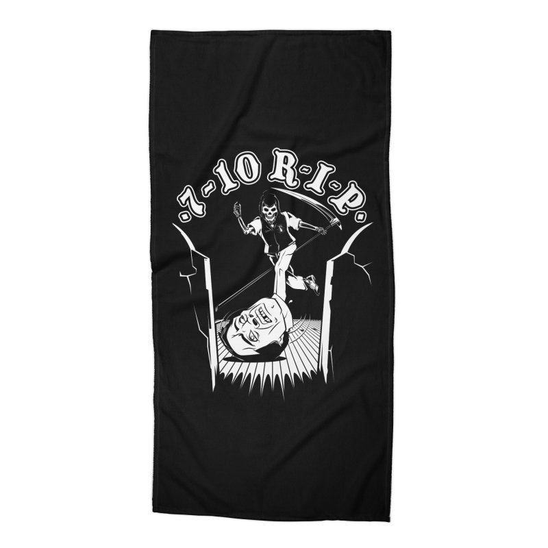 The Pin Reaper Accessories Beach Towel by Made With Awesome