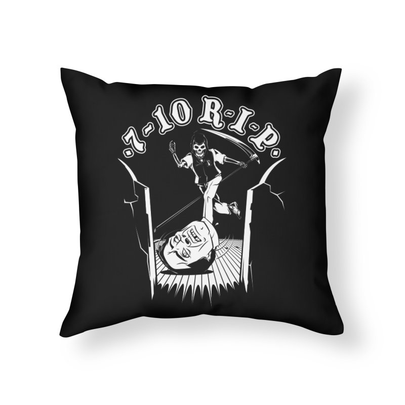 The Pin Reaper Home Throw Pillow by Made With Awesome