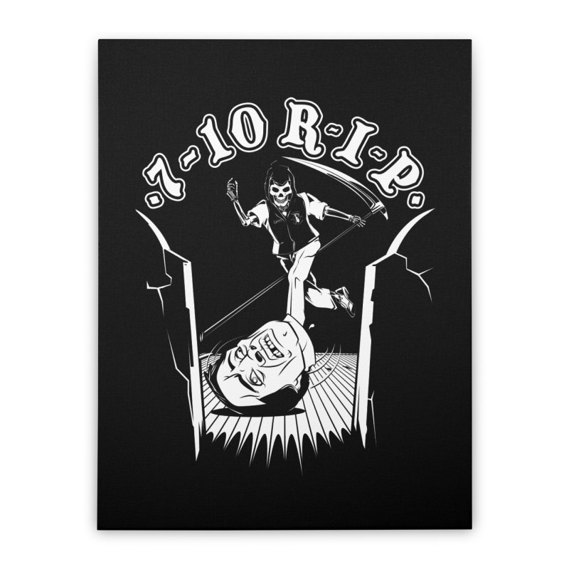 The Pin Reaper Home Stretched Canvas by Made With Awesome