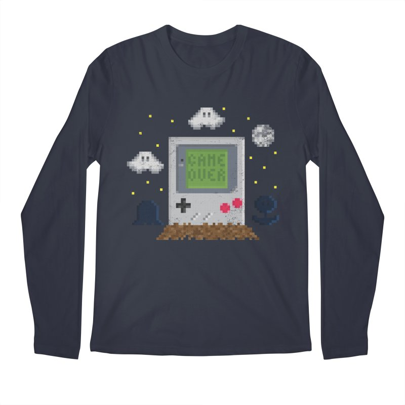 Rest in Pixels Men's Longsleeve T-Shirt by Made With Awesome