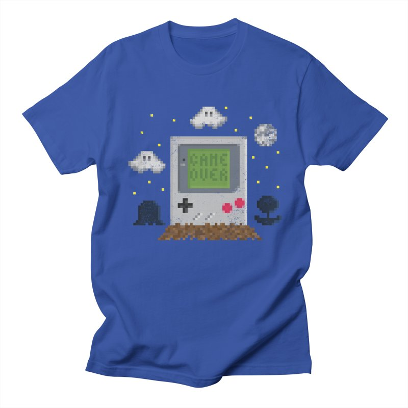 Rest in Pixels Men's T-shirt by Made With Awesome