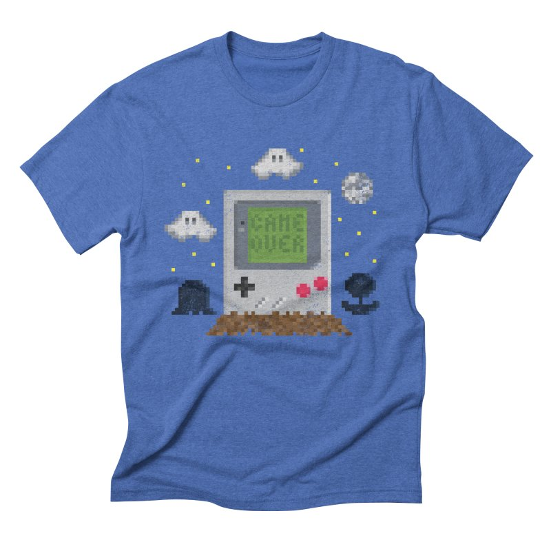 Rest in Pixels Men's Triblend T-shirt by Made With Awesome