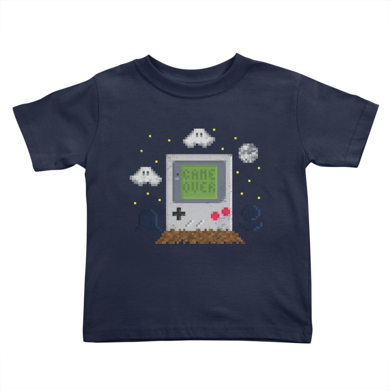 Rest in Pixels Kids Toddler T-Shirt by Made With Awesome