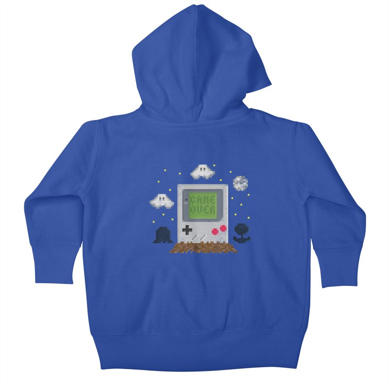 Rest in Pixels Kids Baby Zip-Up Hoody by Made With Awesome