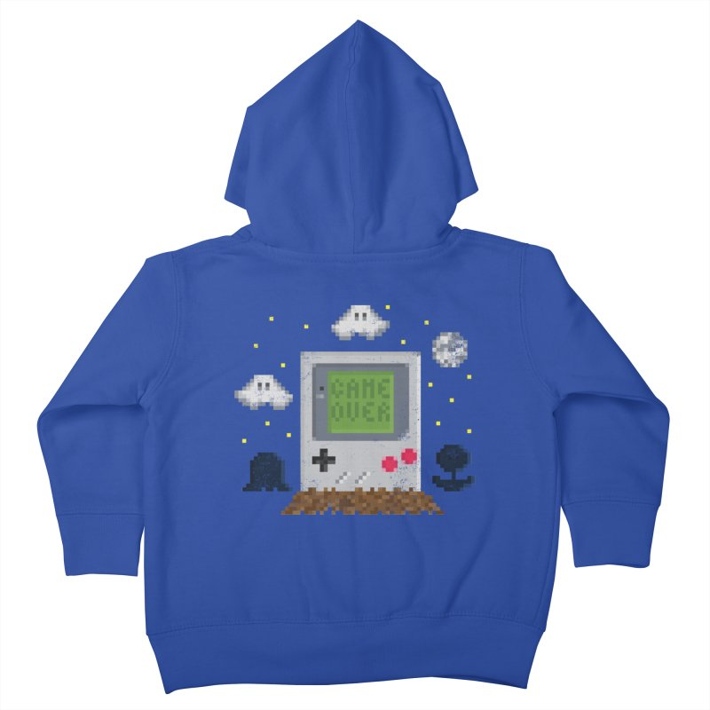 Rest in Pixels Kids Toddler Zip-Up Hoody by Made With Awesome
