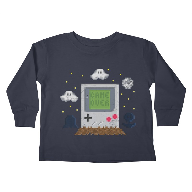 Rest in Pixels Kids Toddler Longsleeve T-Shirt by Made With Awesome