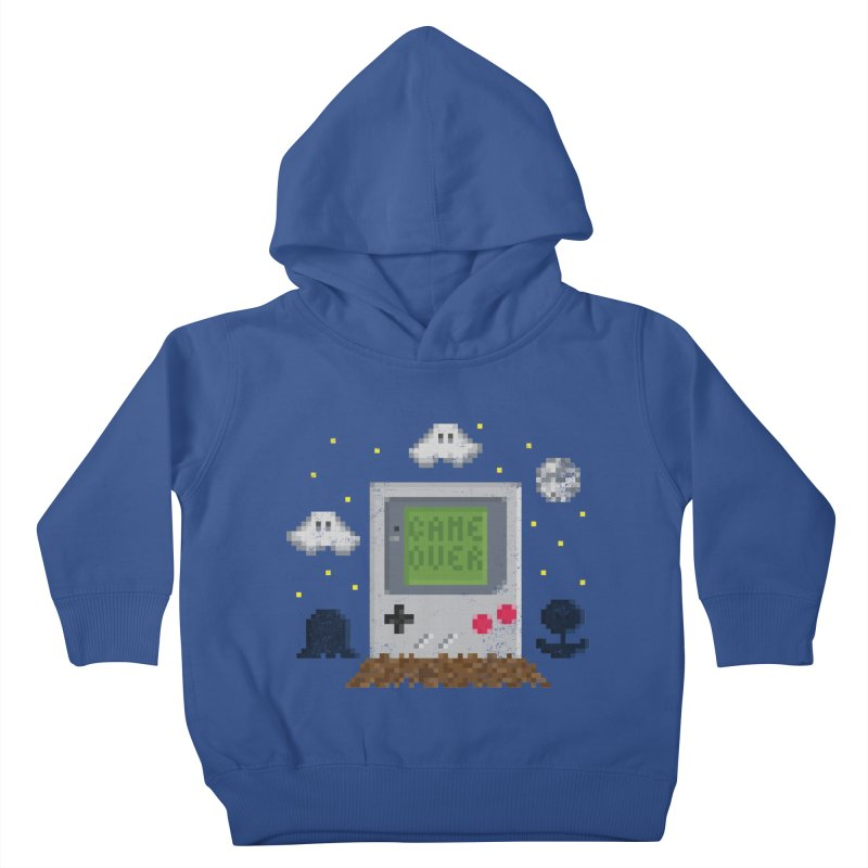 Rest in Pixels Kids Toddler Pullover Hoody by Made With Awesome