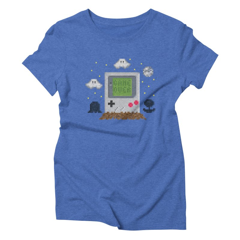 Rest in Pixels Women's Triblend T-shirt by Made With Awesome