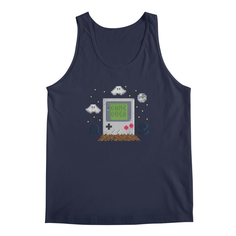 Rest in Pixels Men's Tank by Made With Awesome