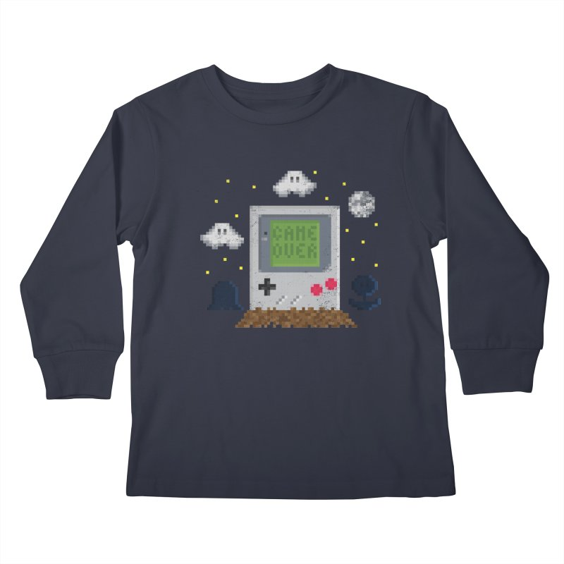 Rest in Pixels Kids Longsleeve T-Shirt by Made With Awesome