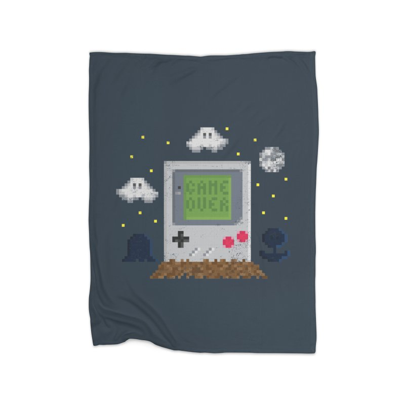 Rest in Pixels Home Fleece Blanket by Made With Awesome