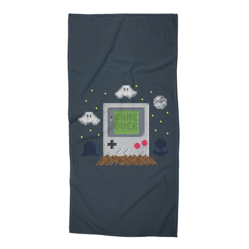 Rest in Pixels Accessories Beach Towel by Made With Awesome