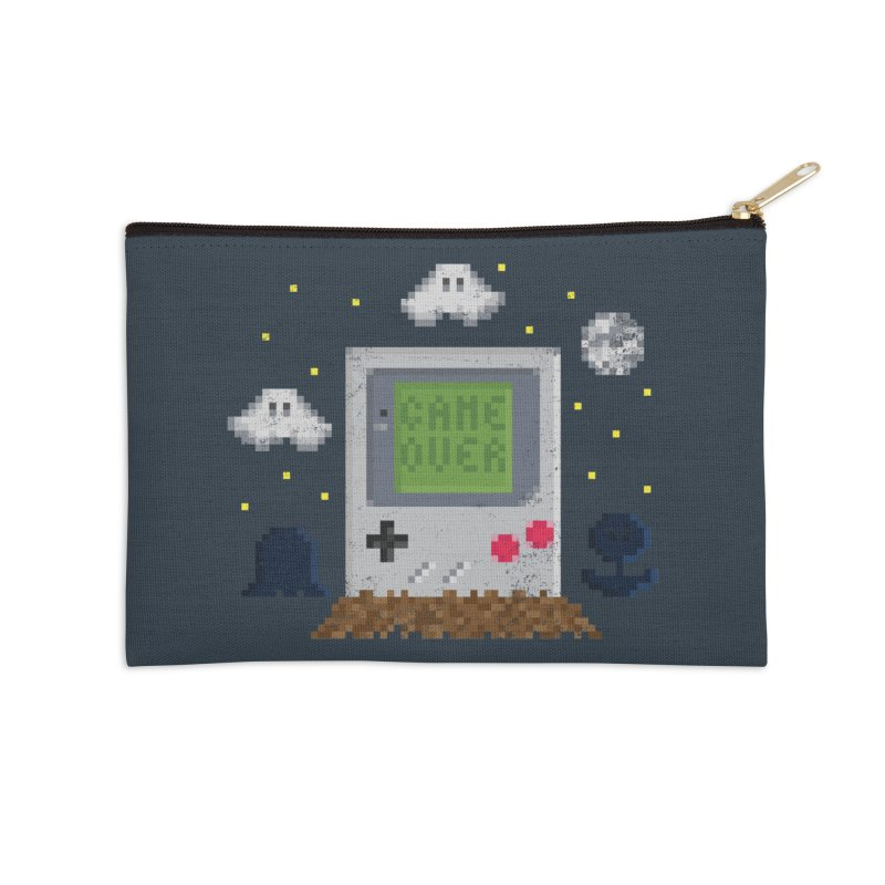 Rest in Pixels in Zip Pouch by Made With Awesome