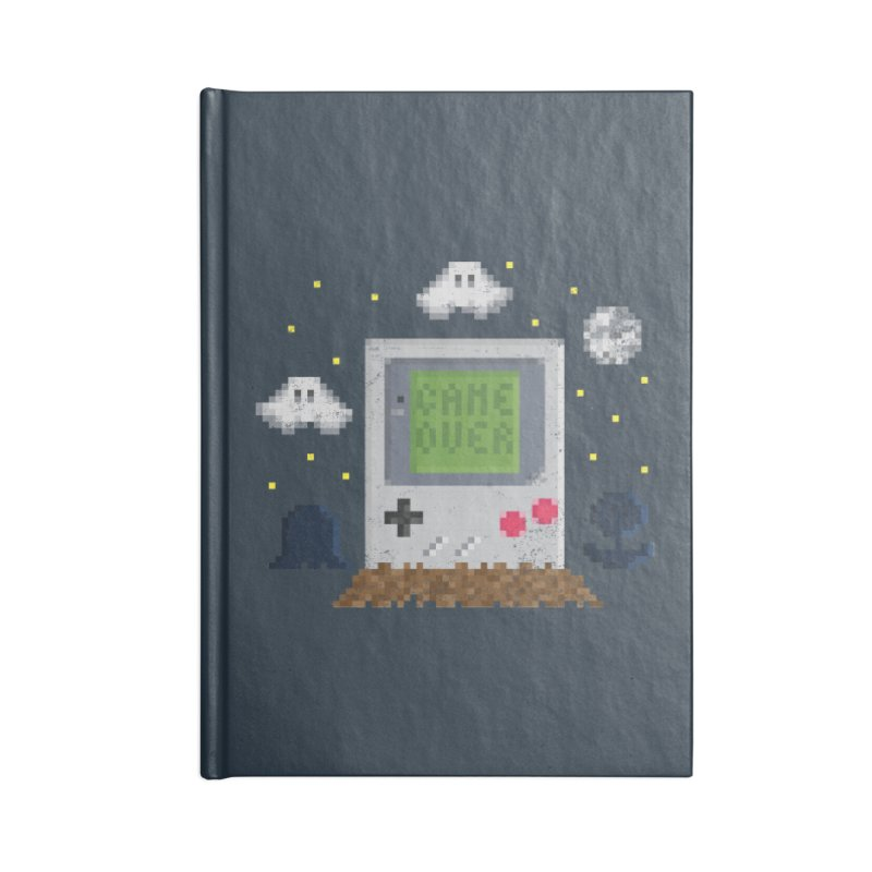 Rest in Pixels Accessories Notebook by Made With Awesome
