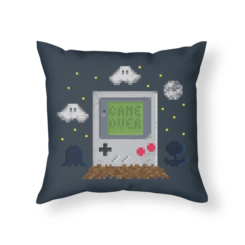 Rest in Pixels Home Throw Pillow by Made With Awesome