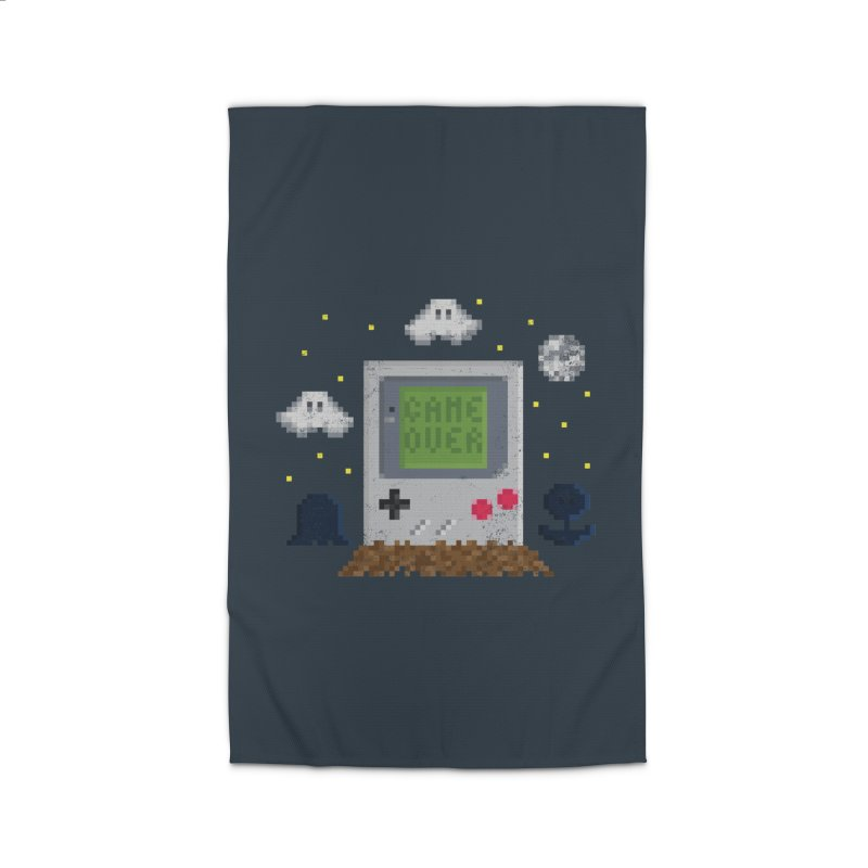 Rest in Pixels Home Rug by Made With Awesome