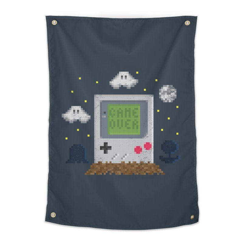 Rest in Pixels Home Tapestry by Made With Awesome