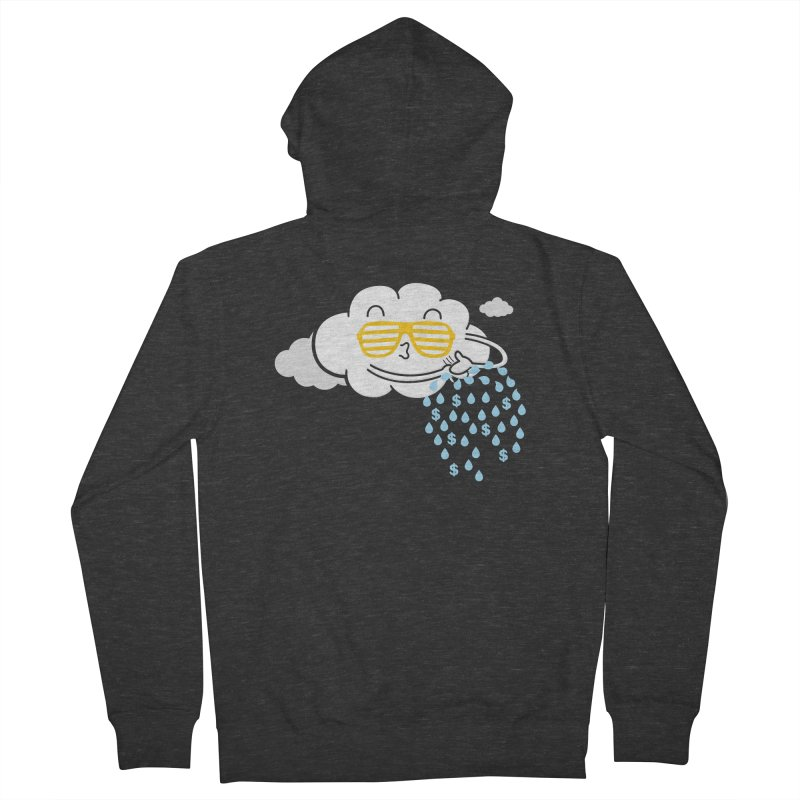 Make It Rain Men's Zip-Up Hoody by Made With Awesome