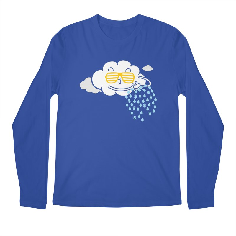 Make It Rain Men's Longsleeve T-Shirt by Made With Awesome