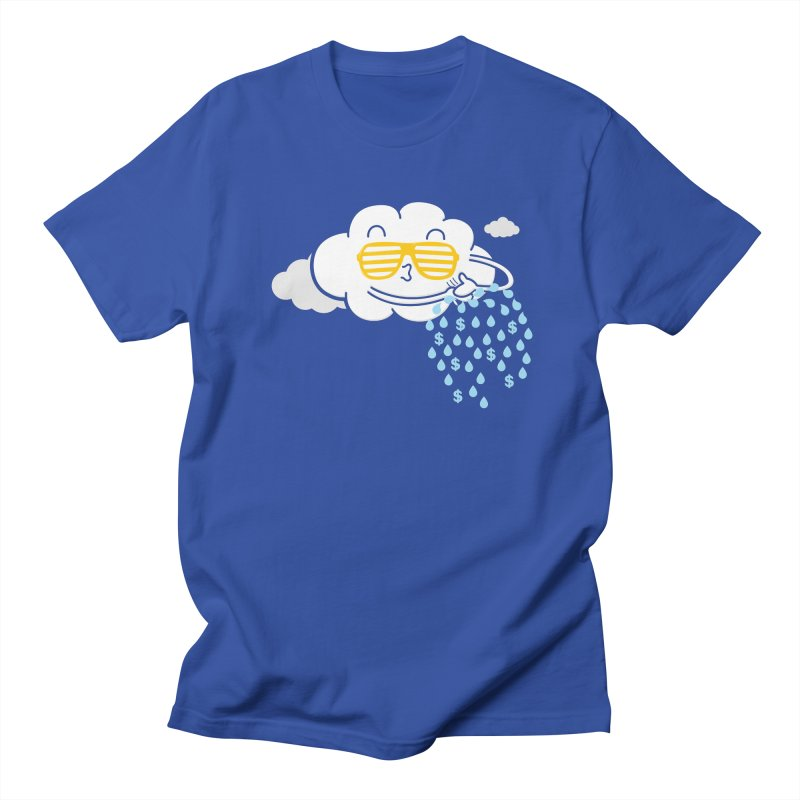 Make It Rain Men's T-shirt by Made With Awesome