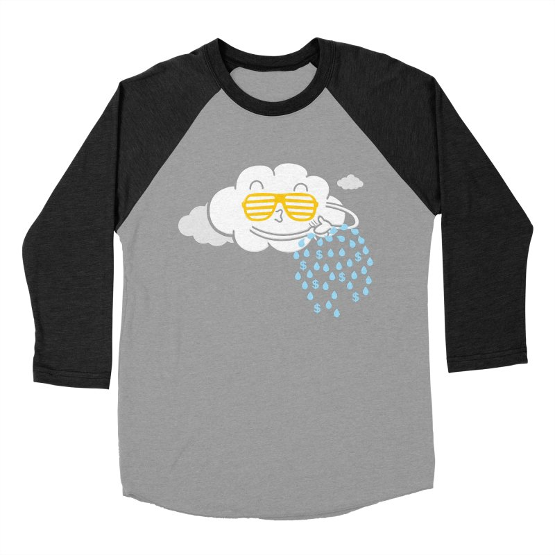 Make It Rain Women's Baseball Triblend T-Shirt by Made With Awesome